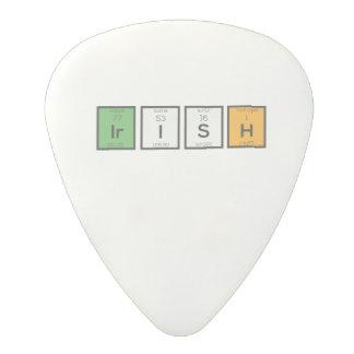 Irish chemcial elements Zy4ra Polycarbonate Guitar Pick
