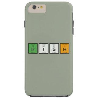 Irish chemcial elements Zy4ra Tough iPhone 6 Plus Case