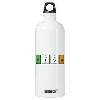 Irish chemcial elements Zy4ra Water Bottle
