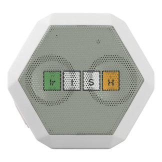 Irish chemcial elements Zy4ra White Bluetooth Speaker