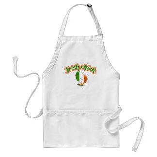 Irish chick apron
