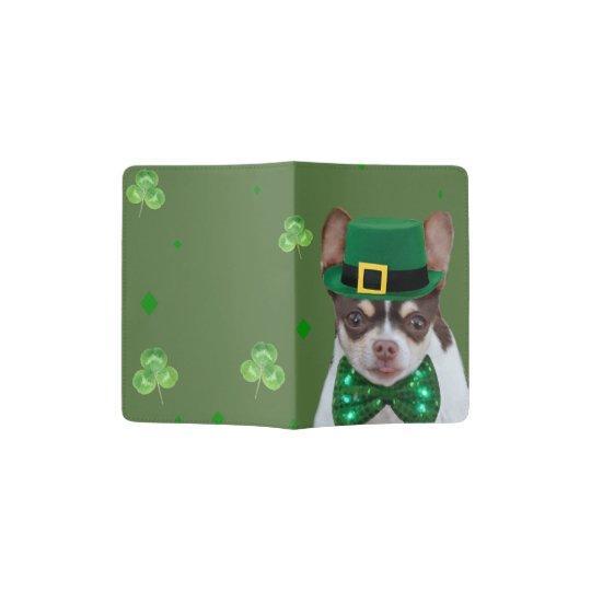 Irish Chihuahua dog passport cover