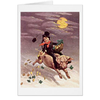 Irish Chimney Sweep St. Patrick's Day Card