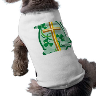 Irish Christianity Dog Tshirt