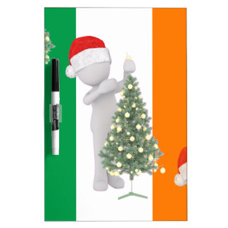 irish christmas Dry-Erase whiteboards