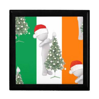 irish christmas trinket box