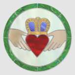 Irish Claddagh Stickers