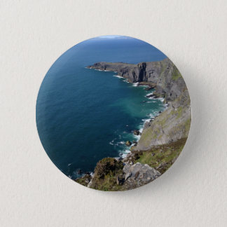 Irish Cliffs In Dingle Ireland By The Ocean 2 Inch Round Button