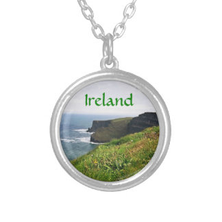 Irish Cliffs Silver Plated Necklace