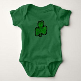 Irish Clover Baby Bodysuit