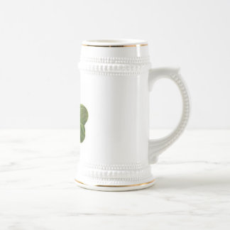Irish Clover Beer Stein