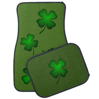 Irish Clover Car and Truck Mats