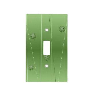 Irish Clover Design Light Switch Cover