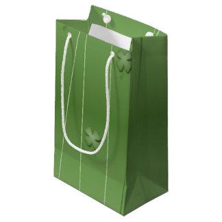 Irish Clover Design Small Gift Bag