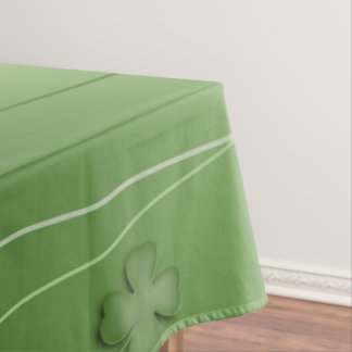 Irish Clover Design Tablecloth