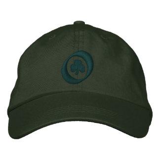 Irish clover embroidered hats