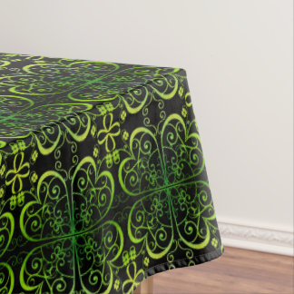 Irish Clover Pattern Tablecloth