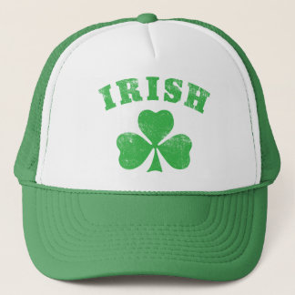 Irish Clover Trucker Trucker Hat