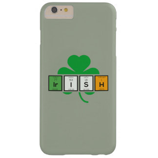 Irish cloverleaf chemical element Zz37b Barely There iPhone 6 Plus Case