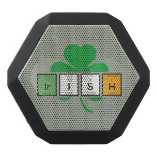 Irish cloverleaf chemical element Zz37b Black Bluetooth Speaker