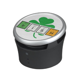 Irish cloverleaf chemical element Zz37b Bluetooth Speaker