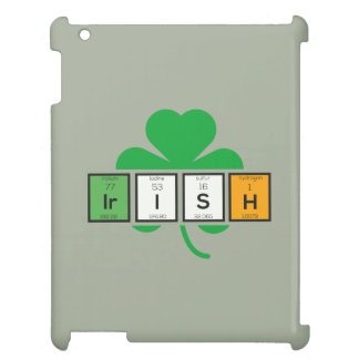 Irish cloverleaf chemical element Zz37b Case For The iPad 2 3 4
