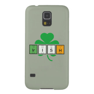 Irish cloverleaf chemical element Zz37b Galaxy S5 Cases
