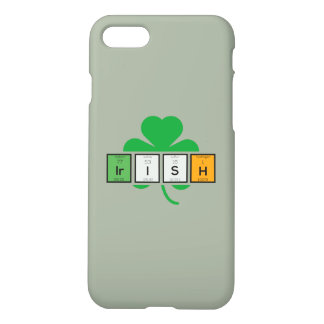 Irish cloverleaf chemical element Zz37b iPhone 8/7 Case