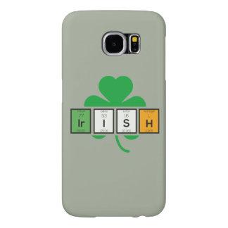 Irish cloverleaf chemical element Zz37b Samsung Galaxy S6 Cases