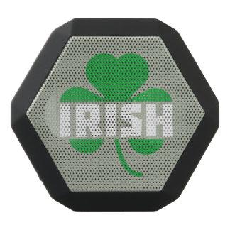 Irish cloverleaf shamrock Z2n9r Black Bluetooth Speaker