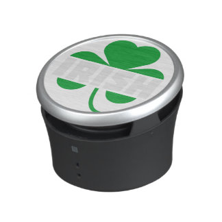 Irish cloverleaf shamrock Z2n9r Bluetooth Speaker