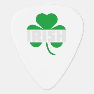 Irish cloverleaf shamrock Z2n9r Guitar Pick