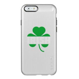 Irish cloverleaf shamrock Z2n9r Incipio Feather® Shine iPhone 6 Case