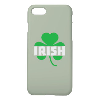 Irish cloverleaf shamrock Z2n9r iPhone 8/7 Case