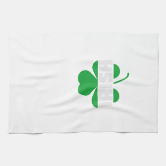Irish cloverleaf shamrock Z2n9r Kitchen Towel