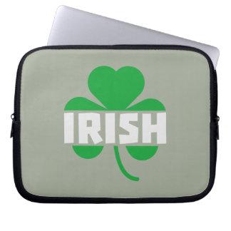 Irish cloverleaf shamrock Z2n9r Laptop Sleeve