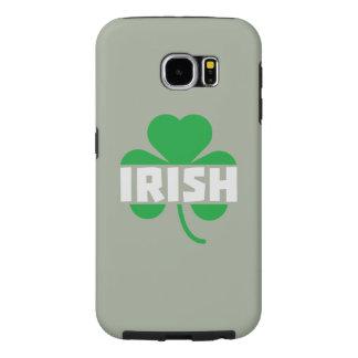 Irish cloverleaf shamrock Z2n9r Samsung Galaxy S6 Cases