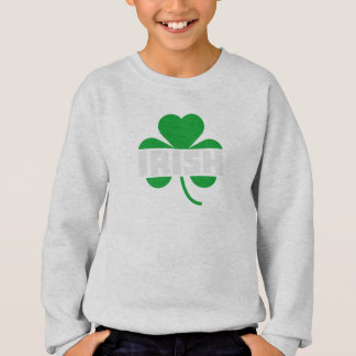 Irish cloverleaf shamrock Z2n9r Sweatshirt