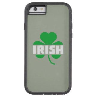 Irish cloverleaf shamrock Z2n9r Tough Xtreme iPhone 6 Case