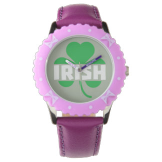 Irish cloverleaf shamrock Z2n9r Watch