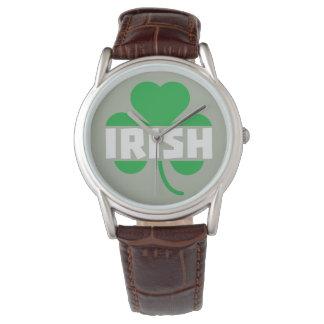 Irish cloverleaf shamrock Z2n9r Watches