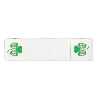 Irish cloverleaf shamrock Z9t2d Beer Pong Table