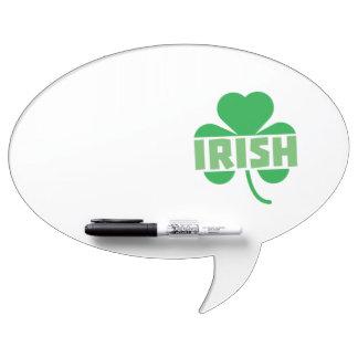 Irish cloverleaf shamrock Z9t2d Dry Erase Whiteboards