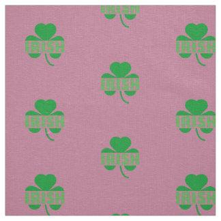 Irish cloverleaf shamrock Z9t2d Fabric