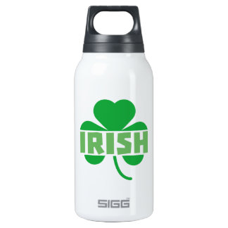 Irish cloverleaf shamrock Z9t2d Insulated Water Bottle