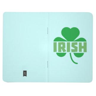 Irish cloverleaf shamrock Z9t2d Journal