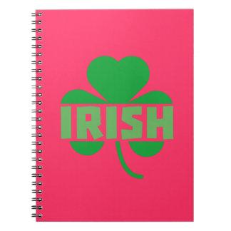 Irish cloverleaf shamrock Z9t2d Notebook