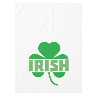 Irish cloverleaf shamrock Z9t2d Tablecloth