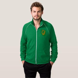 Irish Coat-of-Arms Fleece Track Jacket