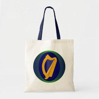 Irish Coat of Arms Logo Tote Bag